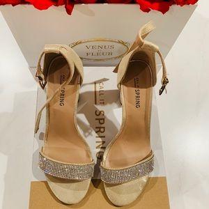 "Call it Spring ""Mirelivia"" heels"